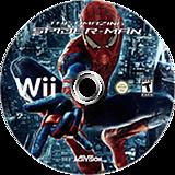 The Amazing Spider-Man Wii disc (SAZE52)