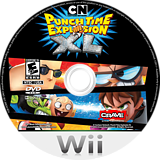 Cartoon Network: Punch Time Explosion XL Wii disc (SQLE4Z)
