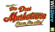 Die Drei Musketiere Einer für alle! WiiWare cover (W3MP)