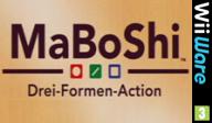 MaBoShi: Drei-Formen-Action WiiWare cover (WMBP)