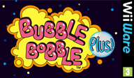 Bubble Bobble Plus! WiiWare cover (WBLP)