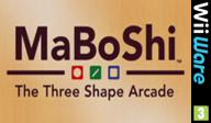 MaBoShi: The Three Shape Arcade WiiWare cover (WMBP)