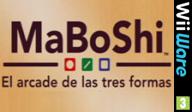 MaBoShi: El arcade de las tres formas WiiWare cover (WMBP)
