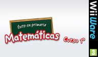Éxito en primaria Matemáticas curso 1º WiiWare cover (WUIP)