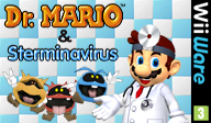 Dr. Mario & Sterminavirus WiiWare cover (WDMP)
