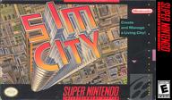 Sim City VC-SNES cover (JAFE)