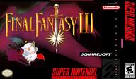 Final Fantasy III VC-SNES cover (JDAE)