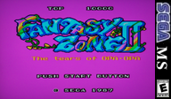 Fantasy Zone II: The Tears of OPA-OPA VC-SMS cover (LALE)