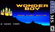 Wonder Boy III: The Dragon's Trap VC-SMS cover (LAPE)