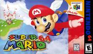 Super Mario 64 VC-N64 cover (NAAE)