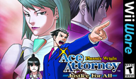 Phoenix Wright: Ace Attorney Justice for All WiiWare cover (W2GE)