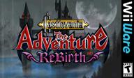 Castlevania The Adventure ReBirth WiiWare cover (WD9E)
