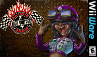 High Voltage: Hot Rod Show WiiWare cover (WHVE)