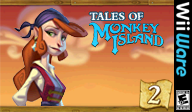 Tales of Monkey Island: Chapter 2 - The Seige of Spinner Cay WiiWare cover (WISE)