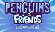 Penguins & Friends Hey! That's my Fish! WiiWare cover (WNEP)