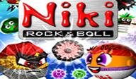 Niki - Rock 'n' Ball WiiWare cover (WNKP)