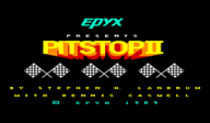 Pitstop II VC-C64 cover (C9ME)