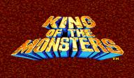 King of the Monsters VC-NEOGEO cover (EAOE)