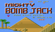 Mighty Bomb Jack VC-NES cover (FBJE)