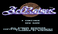 ActRaiser VC-SNES cover (JA7E)