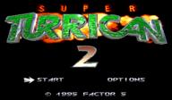 Super Turrican 2 VC-SNES cover (JBUE)