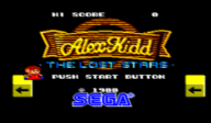Alex Kidd: The Lost Stars VC-SMS cover (LANE)