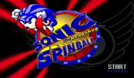 Sonic Spinball VC-MD cover (MATE)