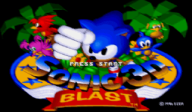 Sonic 3D: Blast VC-MD cover (MBUE)