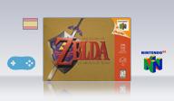 The Legend of Zelda: Ocarina of Time (spanish translation) VC-N64 cover (NAJ8)