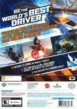 Hot Wheels: World's Best Driver WiiU cover (AHWEWR)