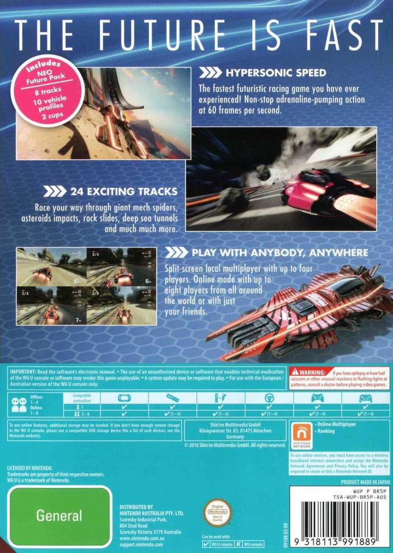 FAST Racing NEO WiiU backHQ (BR5PJX)