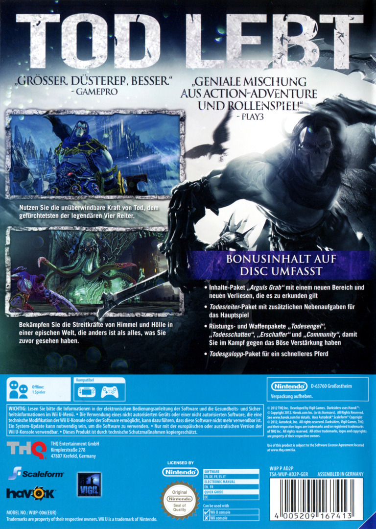 Darksiders II WiiU backHQ (AD2P78)