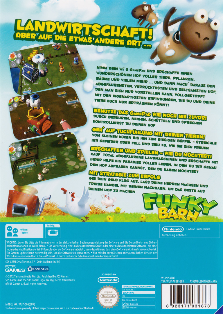 Funky Barn WiiU backHQ (AFBPGT)