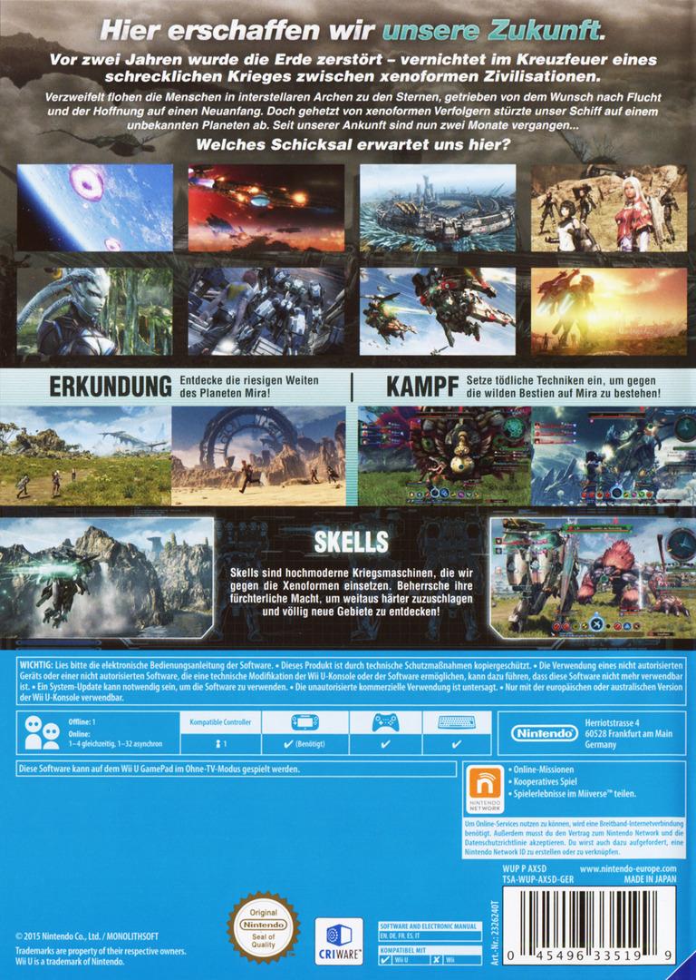 Xenoblade Chronicles X WiiU backHQ (AX5D01)