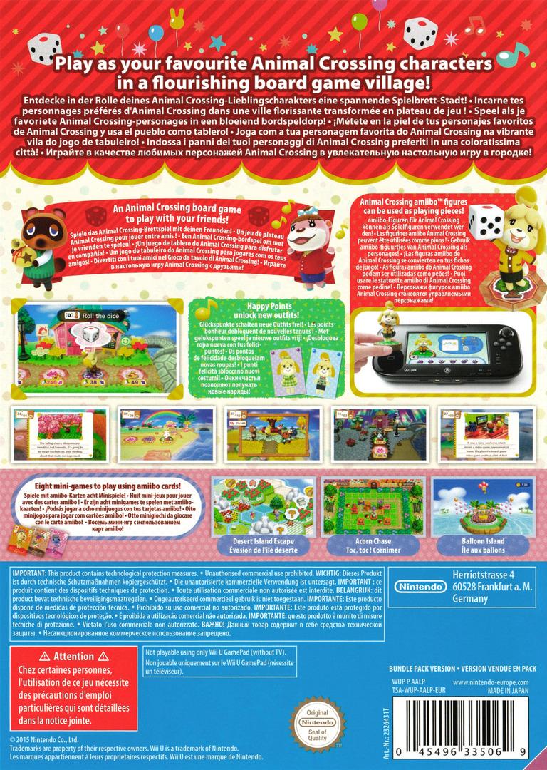 Animal Crossing: amiibo Festival WiiU backHQ (AALP01)