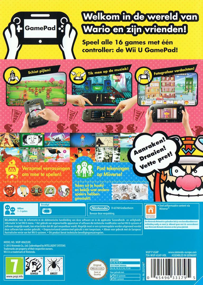 Game & Wario WiiU backHQ (ASAP01)