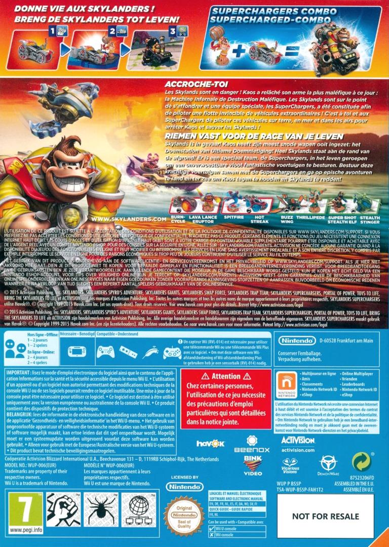 Skylanders: SuperChargers WiiU backHQ (BS5P52)