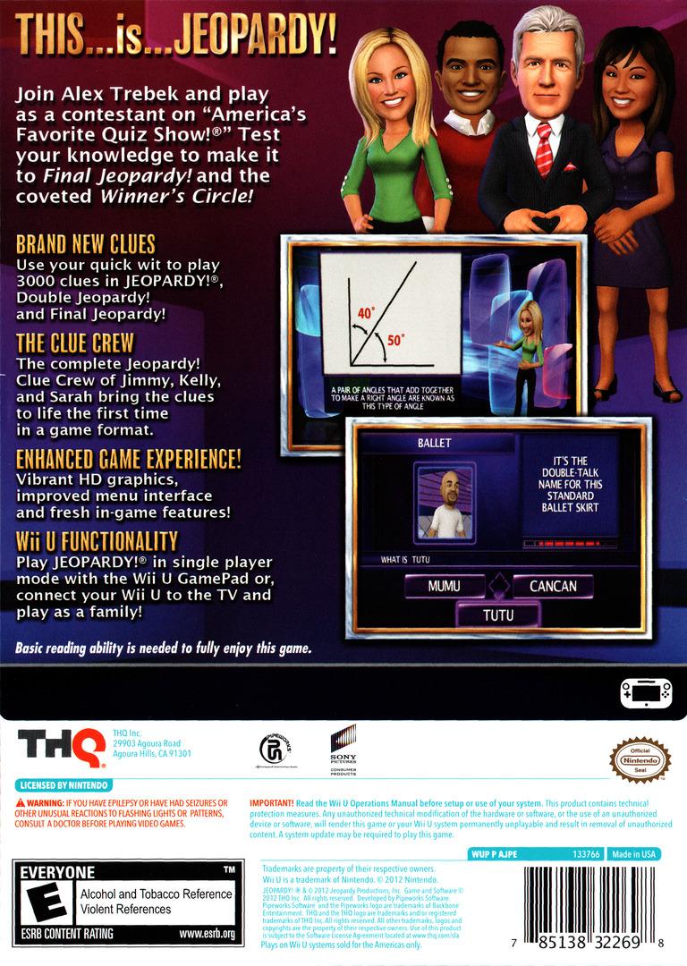 Jeopardy! WiiU backHQ (AJPE78)