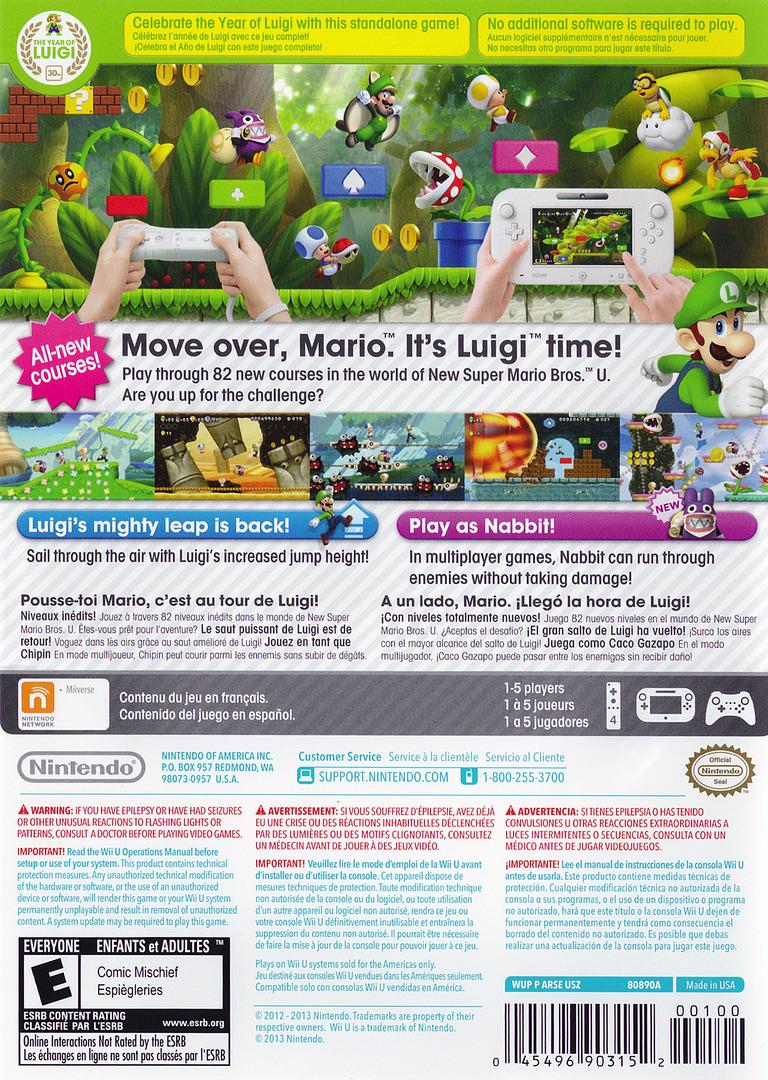 New Super Luigi U WiiU backHQ (ARSE01)