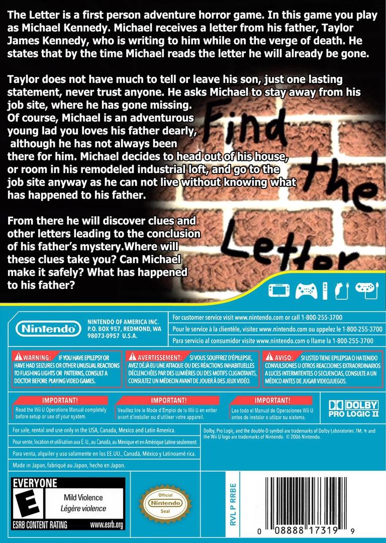 The Letter WiiU backHQ (ATLE)