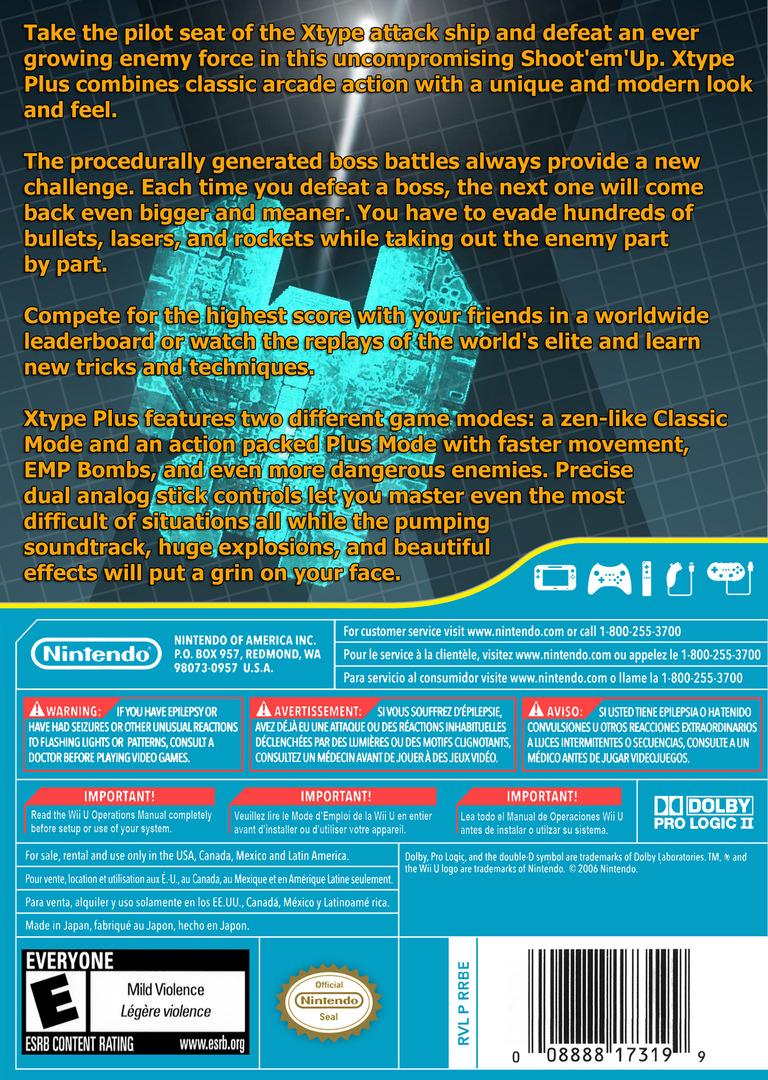 XType+ WiiU backHQ (WEXE)