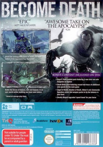 Darksiders II WiiU backM (AD2P78)