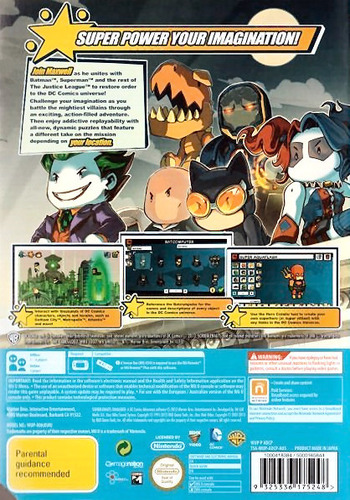 Scribblenauts Unmasked:a DC Comics Adventure WiiU backM (ADCPWR)