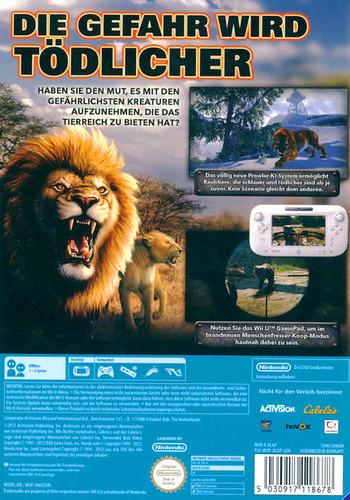 Cabela's Dangerous Hunts 2013 WiiU backM (ACAP52)