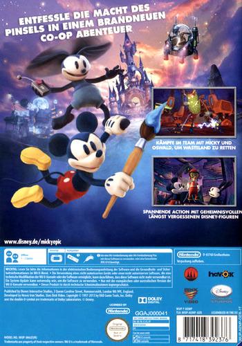 Disney Micky Epic: Die macht der 2 WiiU backM (AEMP4Q)