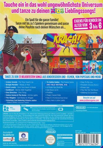 Just Dance Kids 2014 WiiU backM (AJKP41)