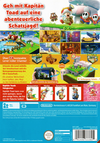 Captain Toad: Treasure Tracker WiiU backM (AKBP01)