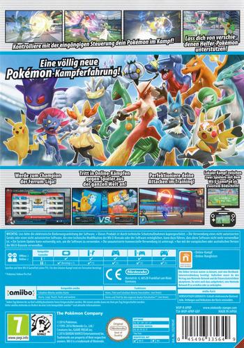Pokémon Tekken WiiU backM (APKP01)
