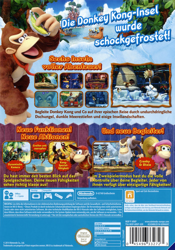 Donkey Kong Country: Tropical Freeze WiiU backM (ARKP01)