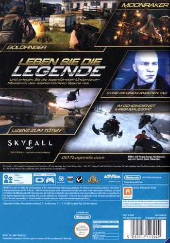007 Legends WiiU backM (ASVP52)